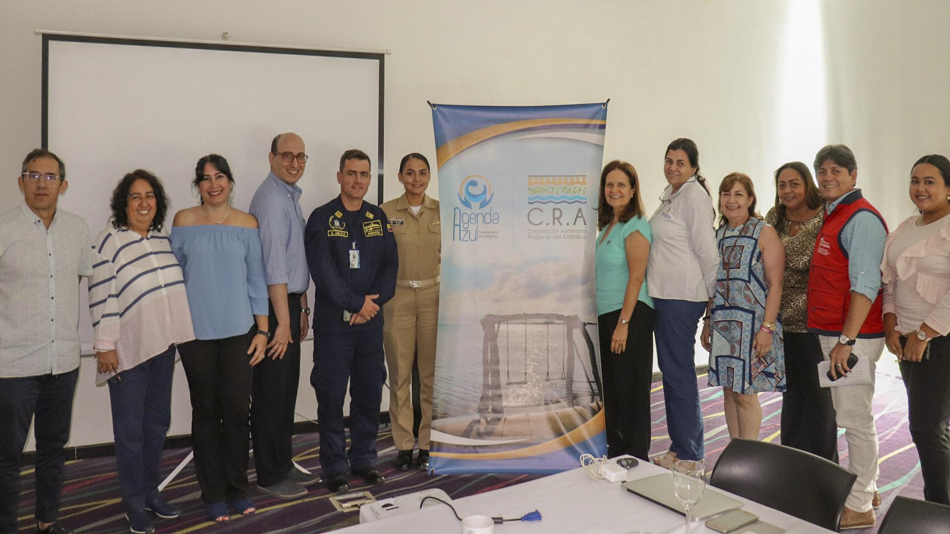 Comité Marítimo Fluvial (CoMAFlu) creado en el marco del proyecto Agenda Azul, coordinado por la CRA.