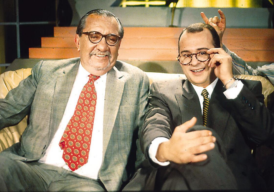 Fernando González Pacheco y Jota Mario Valencia.