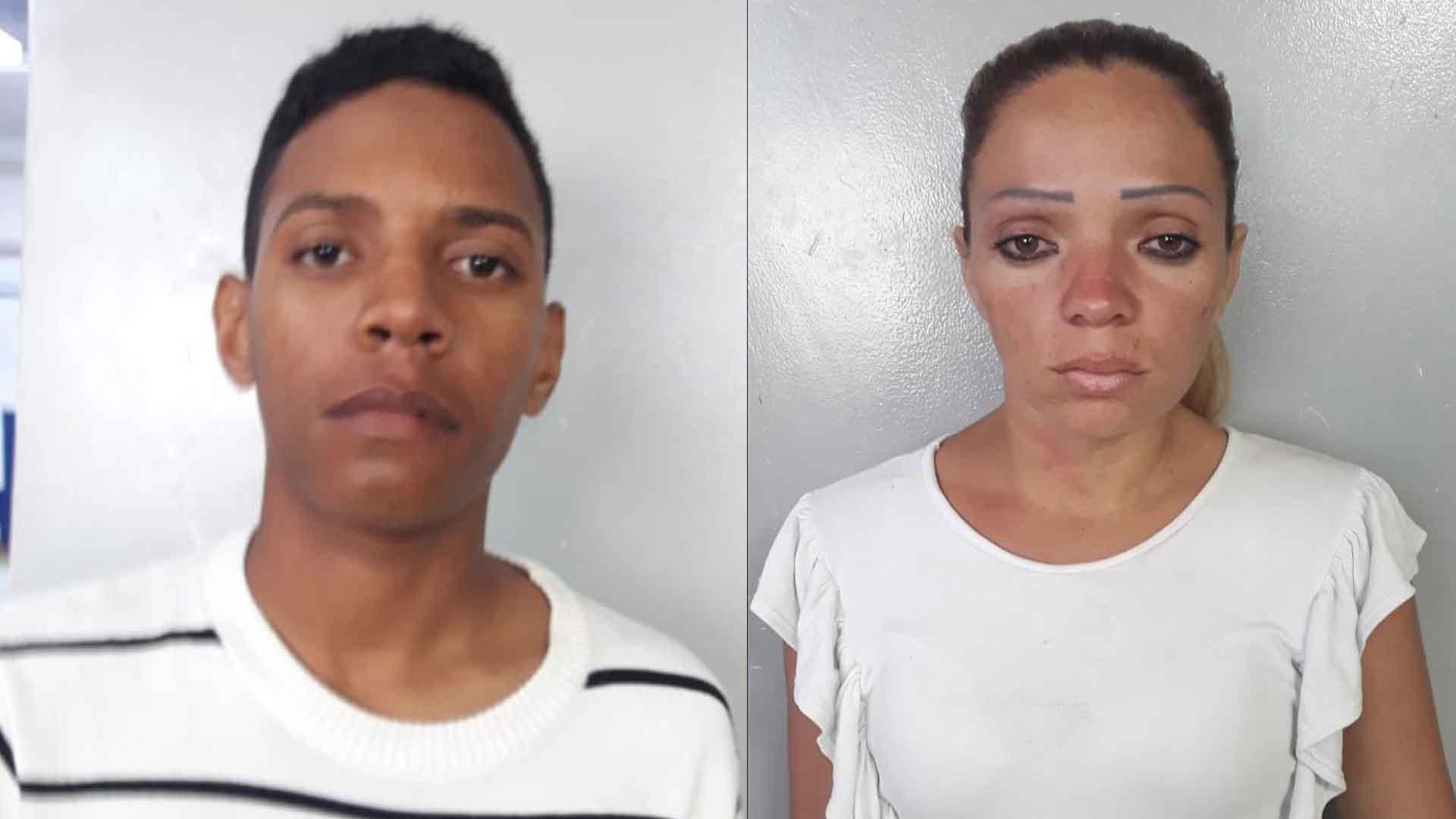 Jesús Rivas Olivares, de 22 años, e Ivana del Carmen Bravo Bravo, de 30 años.