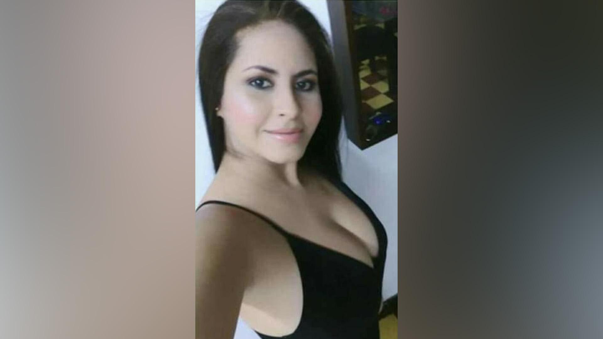 Darley María Guzmán Pérez, víctima.