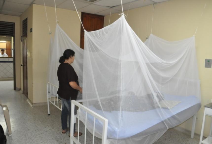 Los toldillos protegen de la picadura del mosquito.
