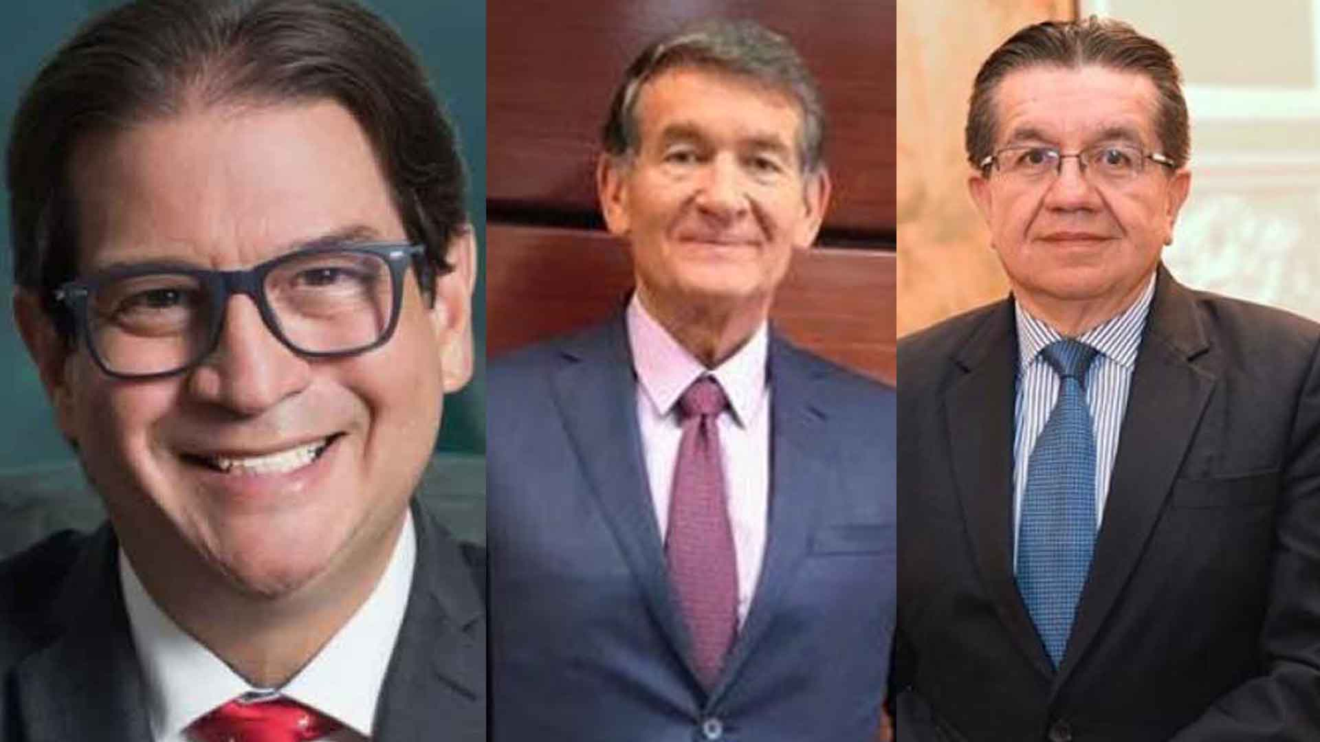 Rodolfo Zea, Ángel Custodio, Fernando Ruiz, nuevos ministros designados.