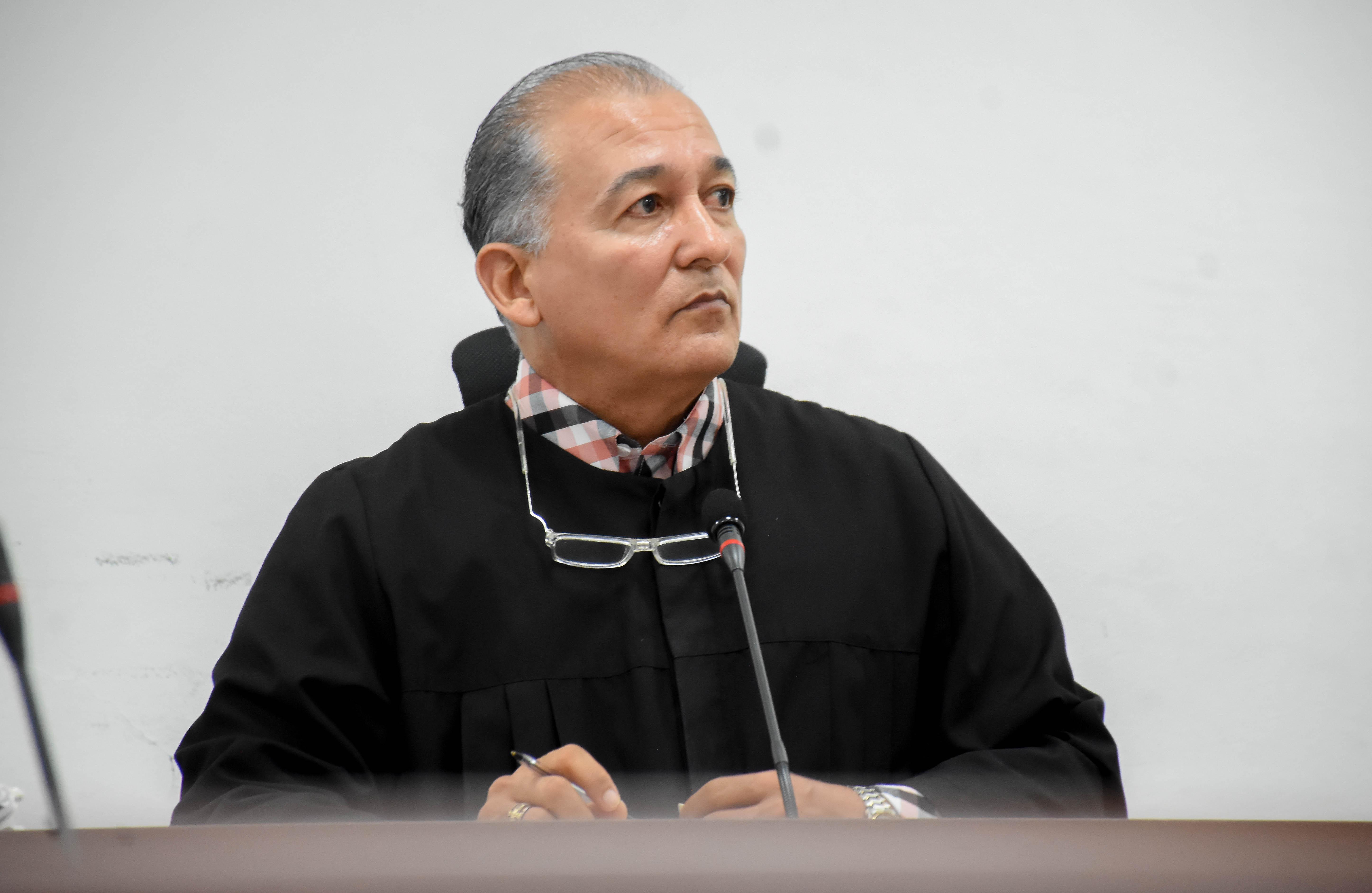 El juez Maxlinder Pichón.