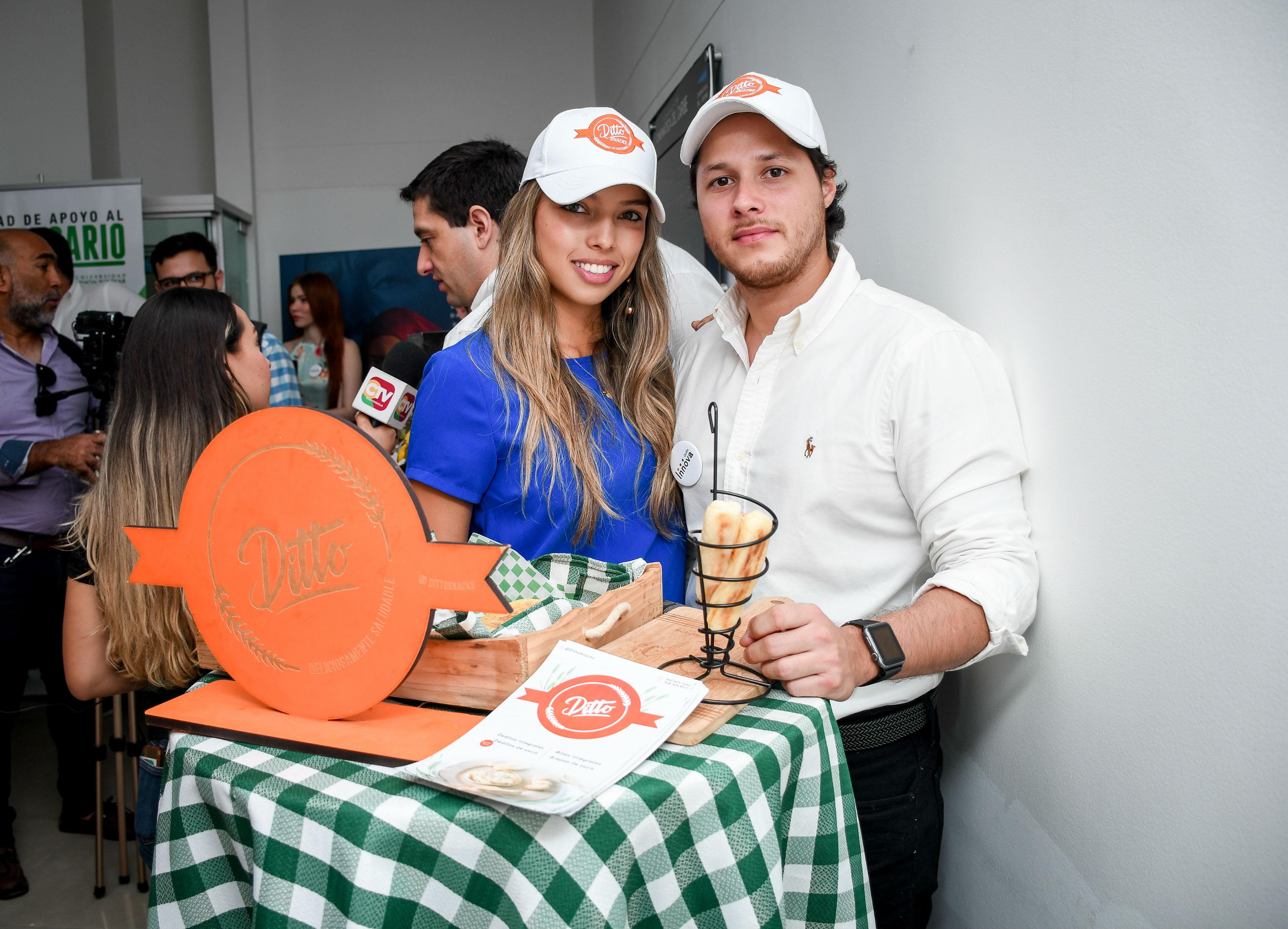 Valeria y Sergio Cerón, creadores de Ditto.