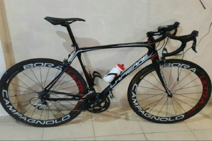 Esta es la bicicleta marca Lapierre que le fue robada a Nelson Soto.