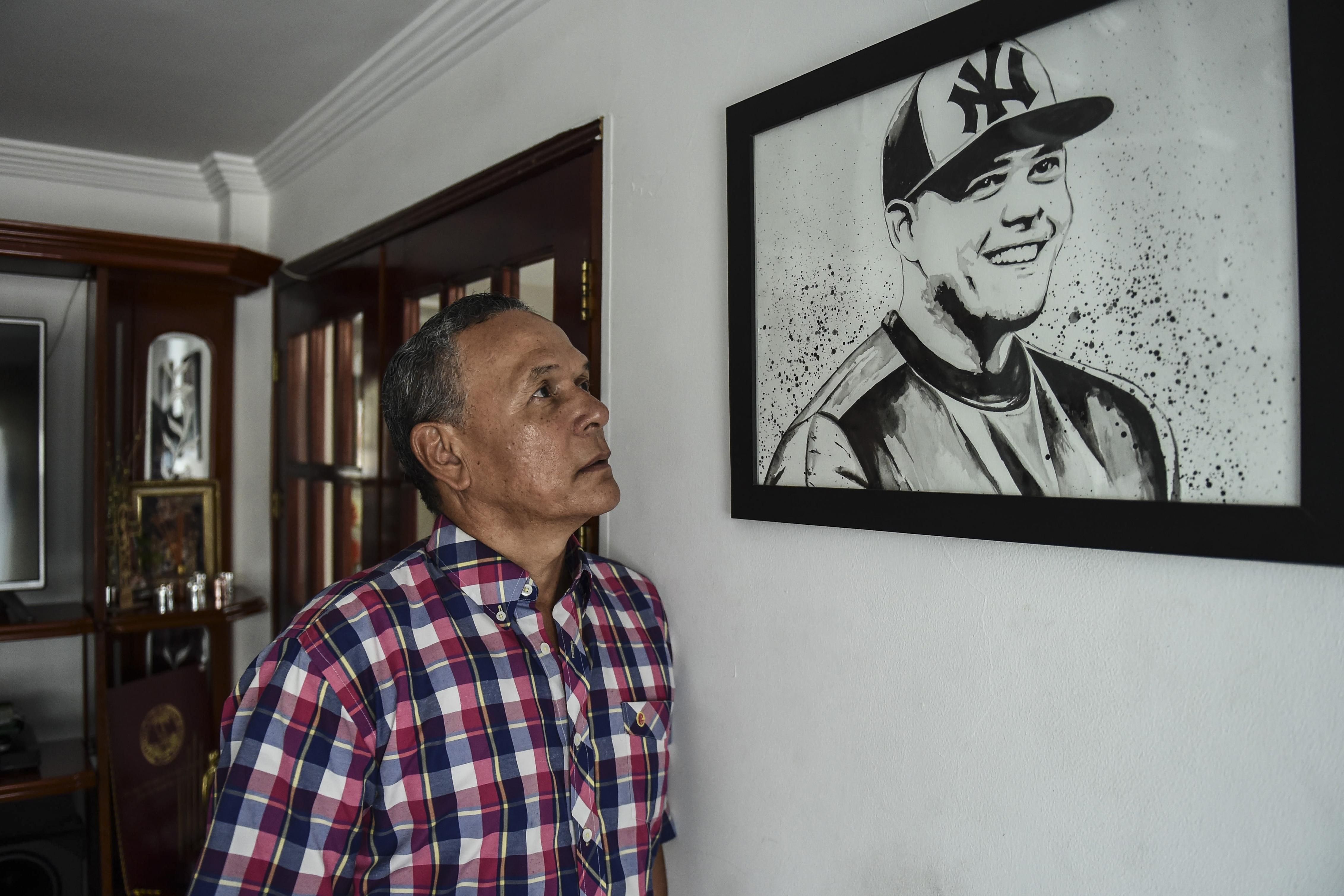 Álvaro Urshela, padre del tercera base de los Yanquis en la Gran Carpa.