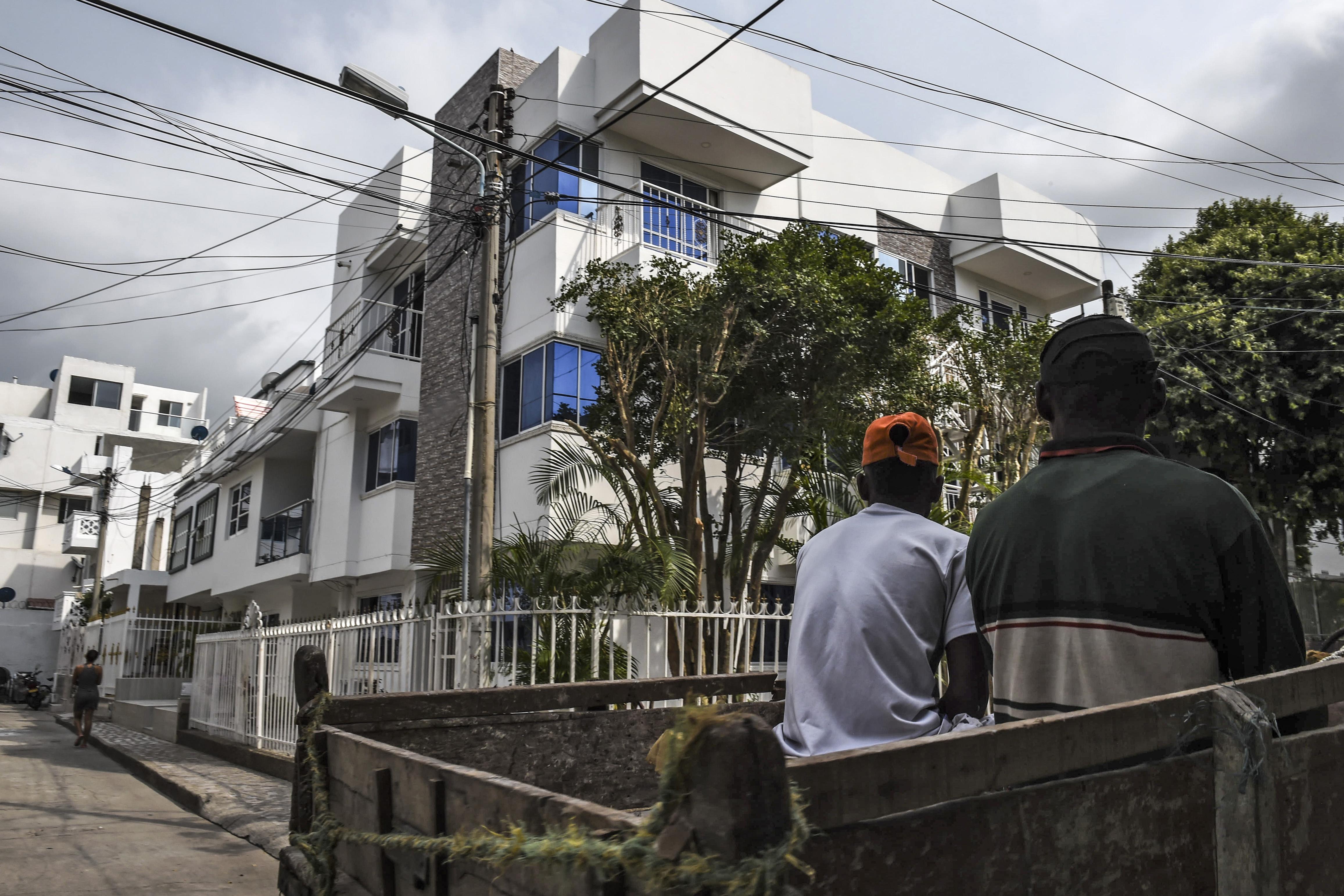 Esta es la casa de Giovanny Urshela en su natal Cartagena.