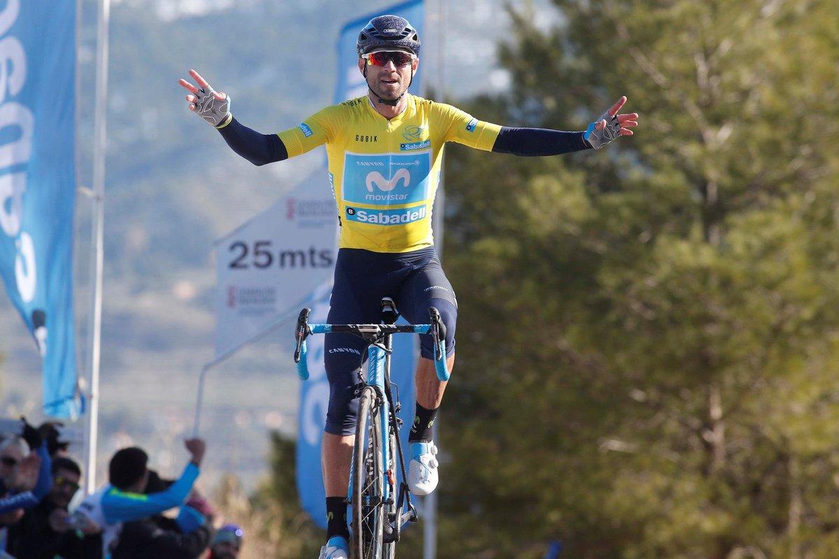 Alejandro Valverde, campeón de la Vuelta a Valencia.