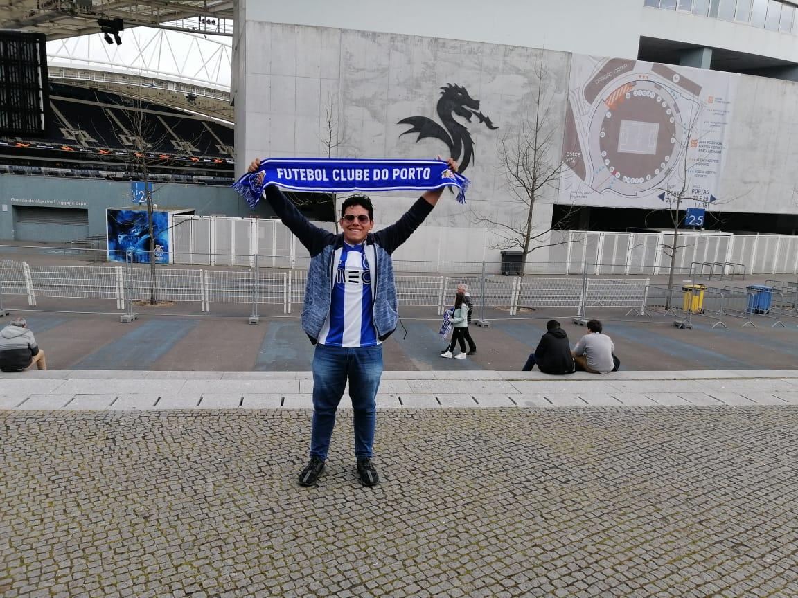 El barranquillero Ángel David Pacheco Ortiz estará apoyando a Luis Díaz y al Porto.