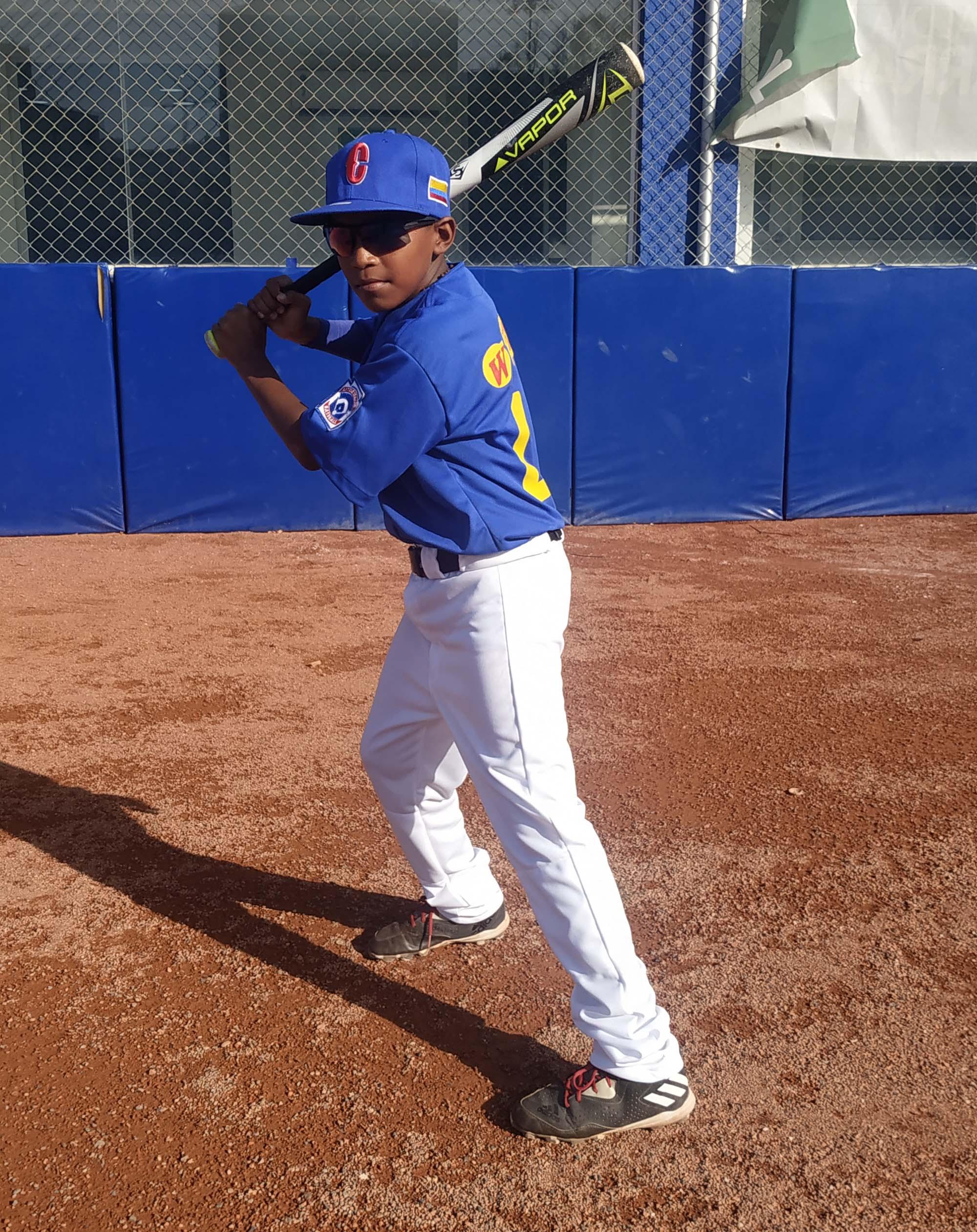 Waynner Jaimes Machado en acción.