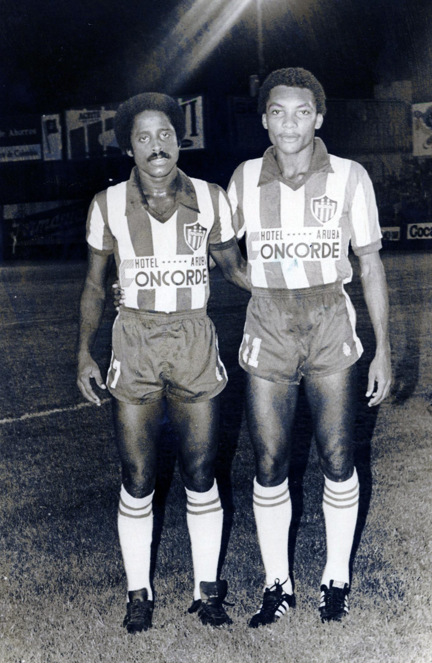 Jesús 'Kiko' Barrios y William Knight.