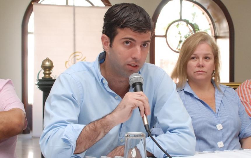 Daniel Noguera es el director de los Juegos.