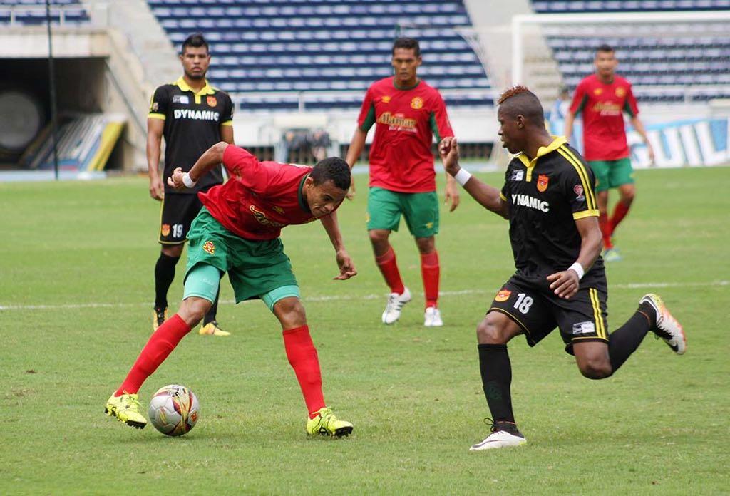 Luis Díaz brilló en el Barranquilla FC antes de llegar a Junior.