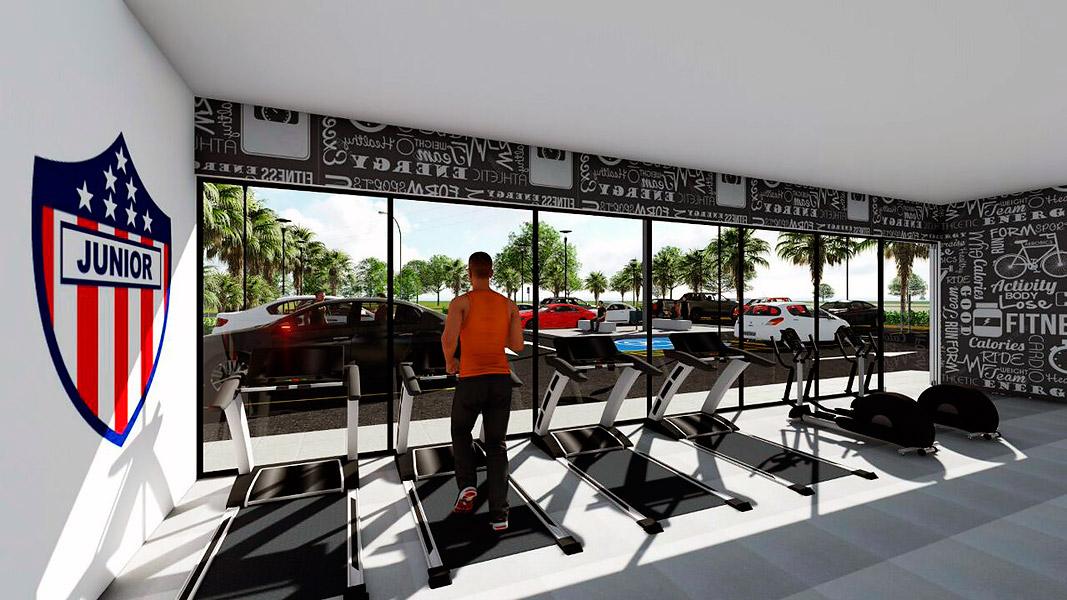 Así quedaría la sede deportiva de Junior Adelita de Char, en Sabanilla.