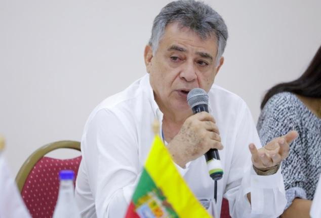 Édgar Martínez, gobernador de Sucre.