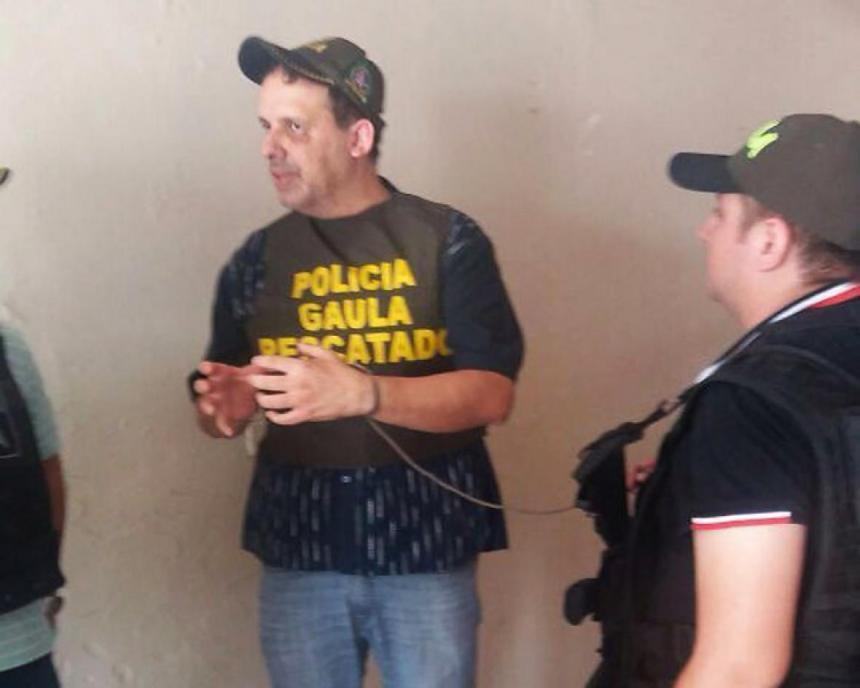 Benny Osorio Mejía, tras ser liberado.