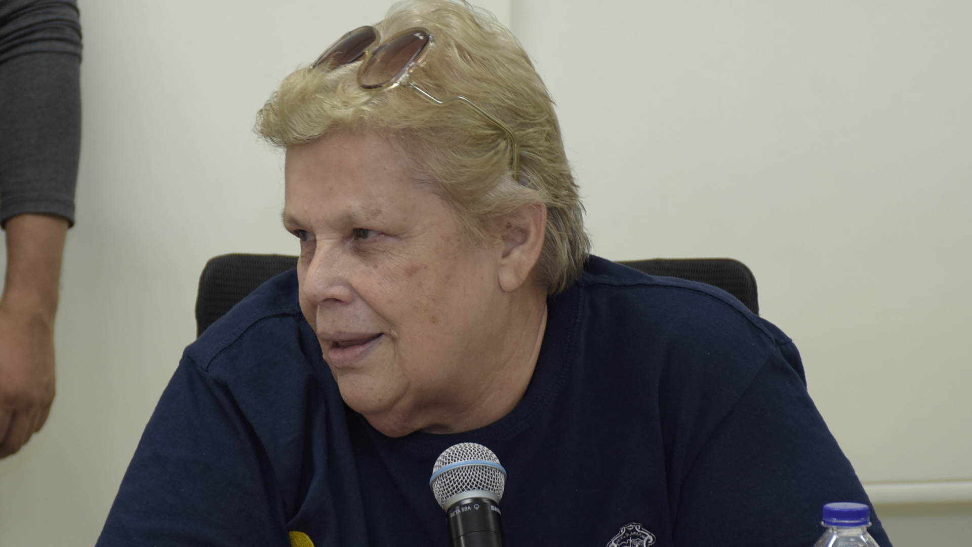 Elsa McCausland, presidenta de la Asociación de Ligas.