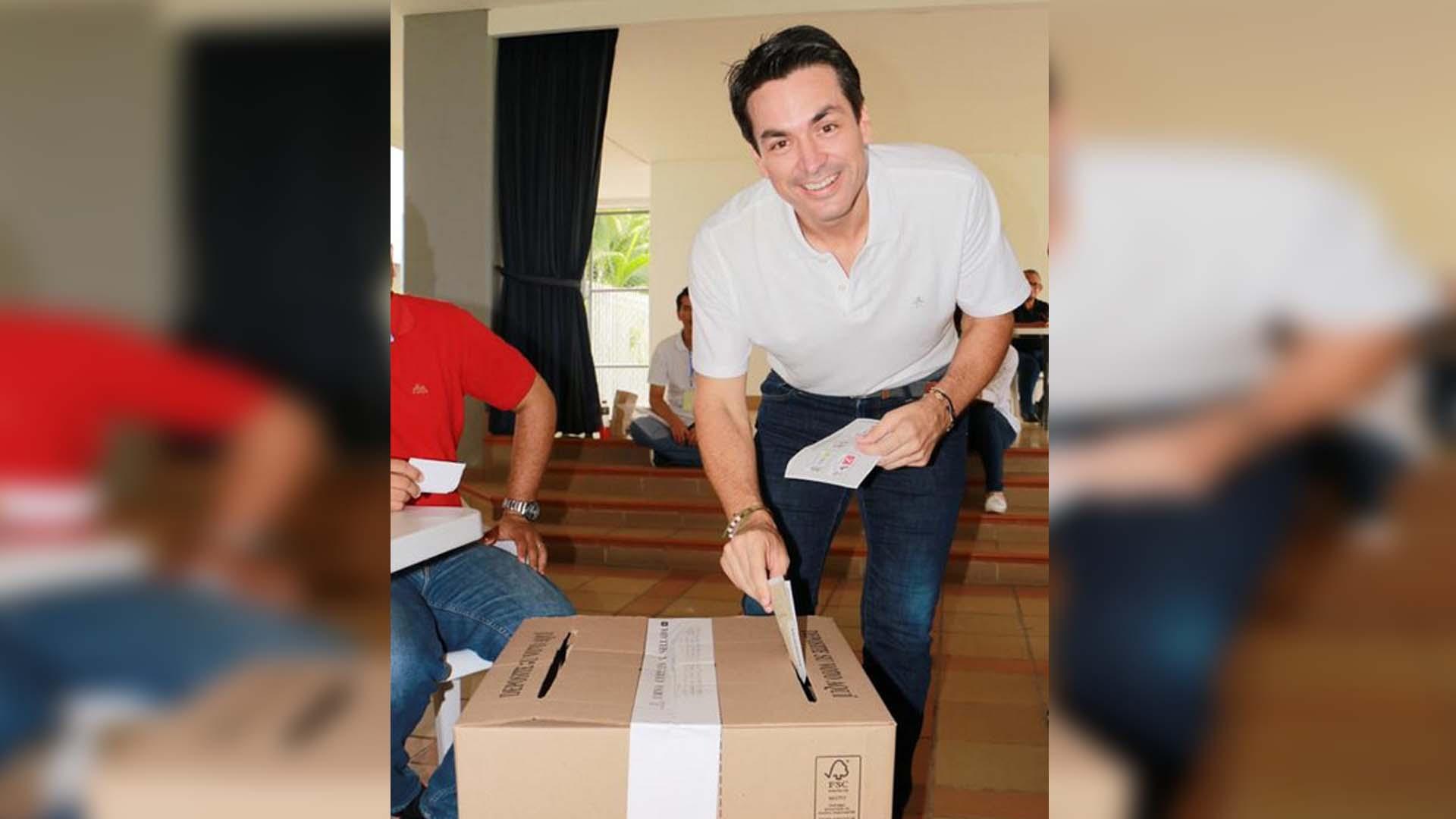 Nuevo alcalde, Carlos Ordosgoitia
