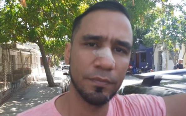 Erwin Ortiz, amigo de Brayan Hernández.
