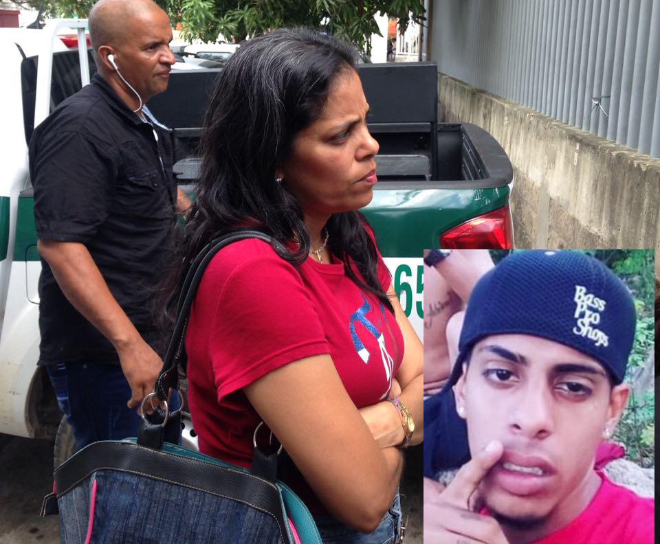 Familiares de Jean Manuel Maldonado, 'el venezolano.