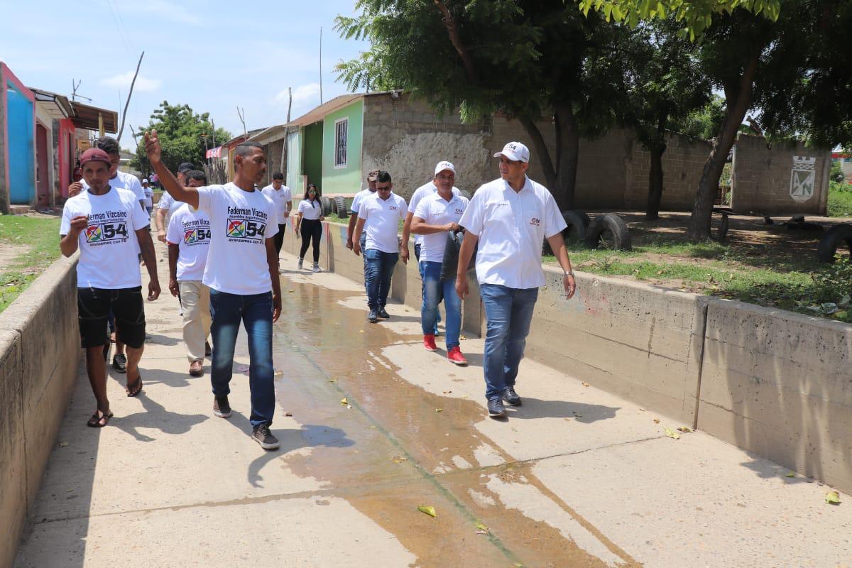 Federman Vizcaíno en Aguada de Pablo
