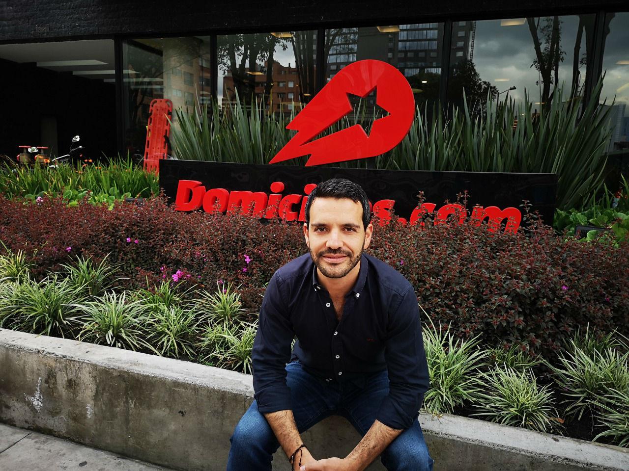 Felipe Ossa, country mánager de Domicilios.com