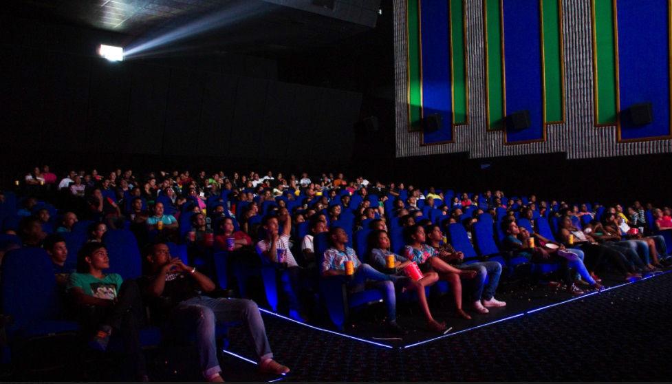 Asistentes a una de las exhibiciones del Festival de Cine de Cartagena.
