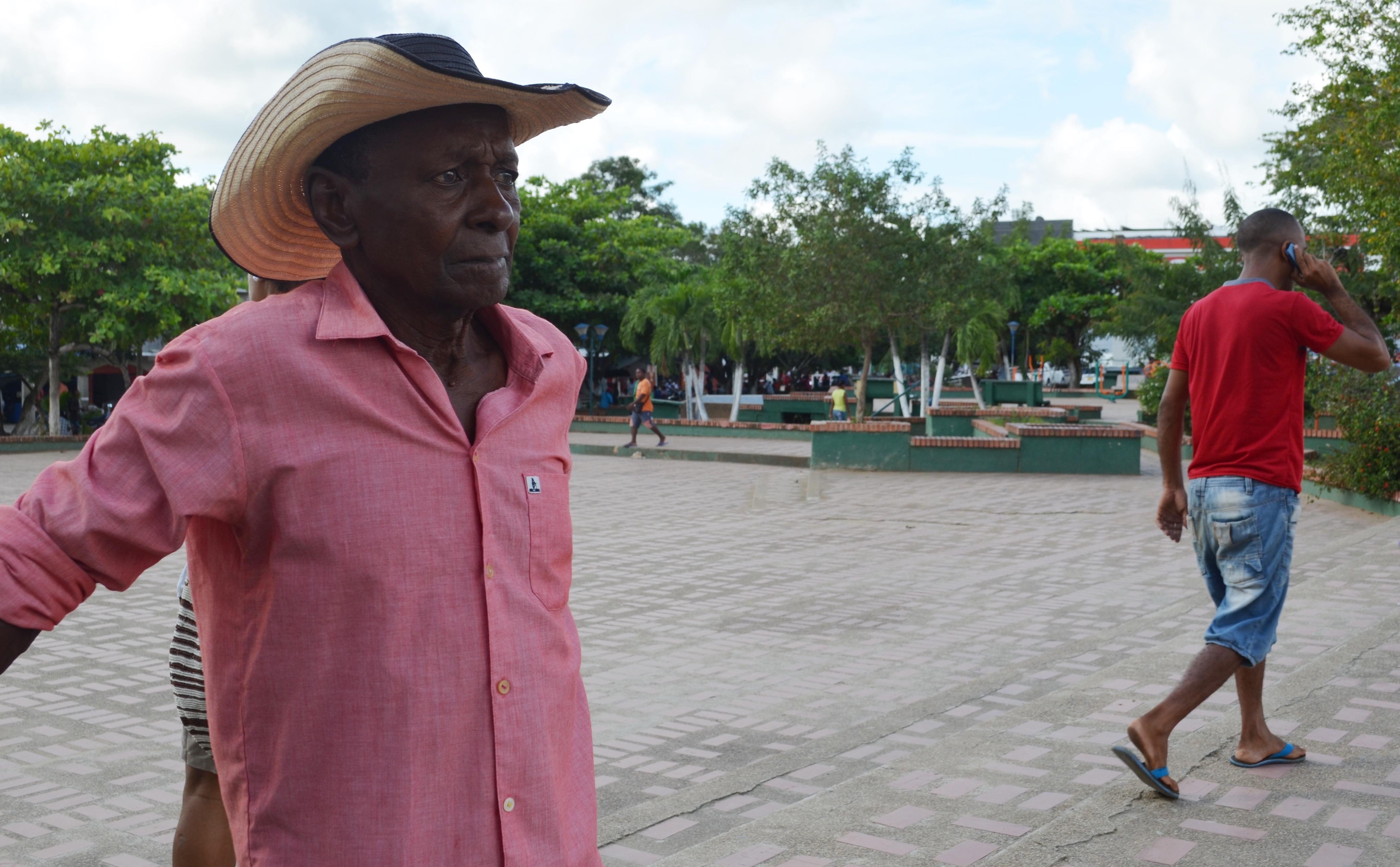 Fidencio Berrío, 82 años, busca desde el 2002 a su hijo Andrés Berrío.