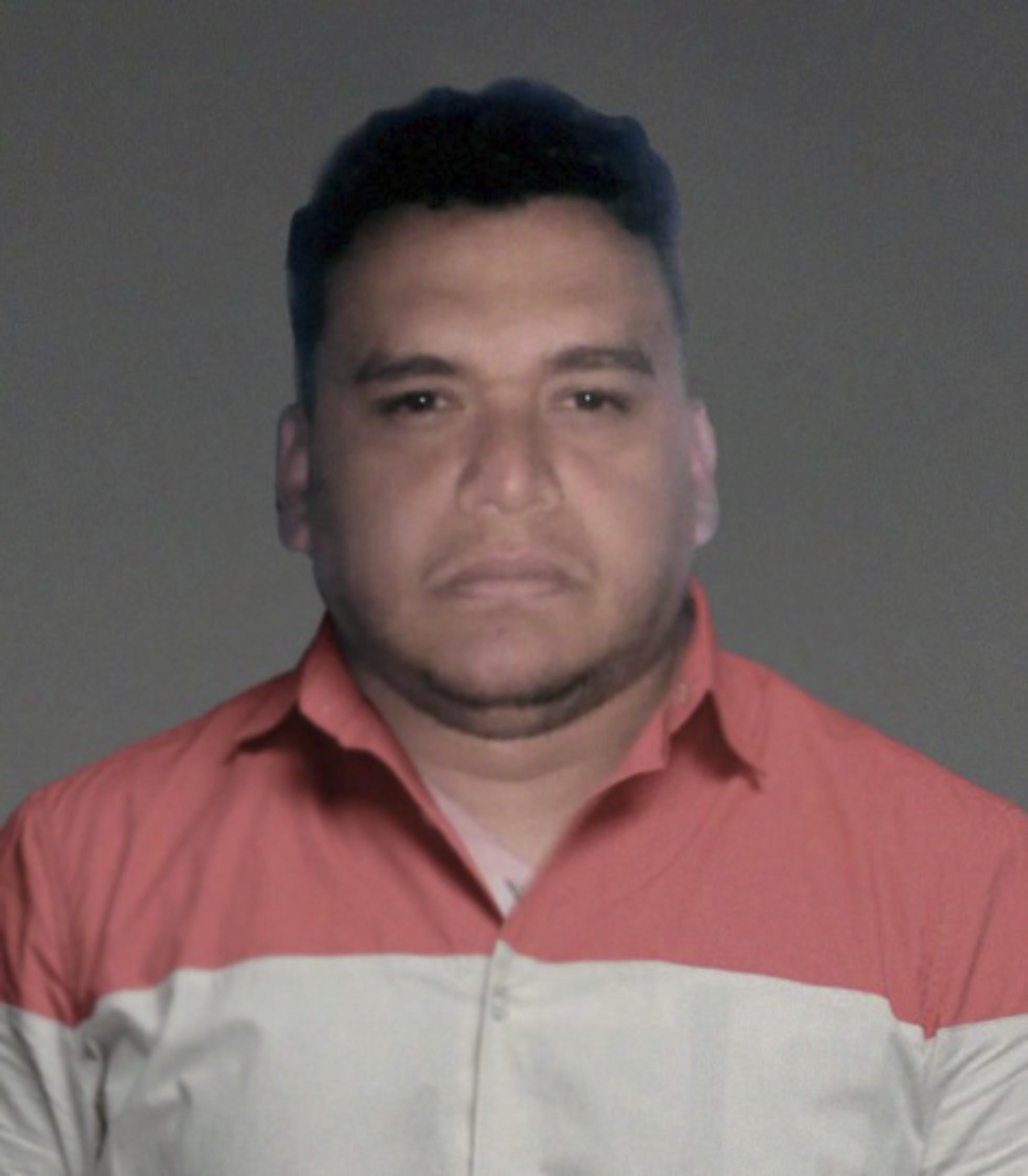Registro policial de Digno tras ser capturado.