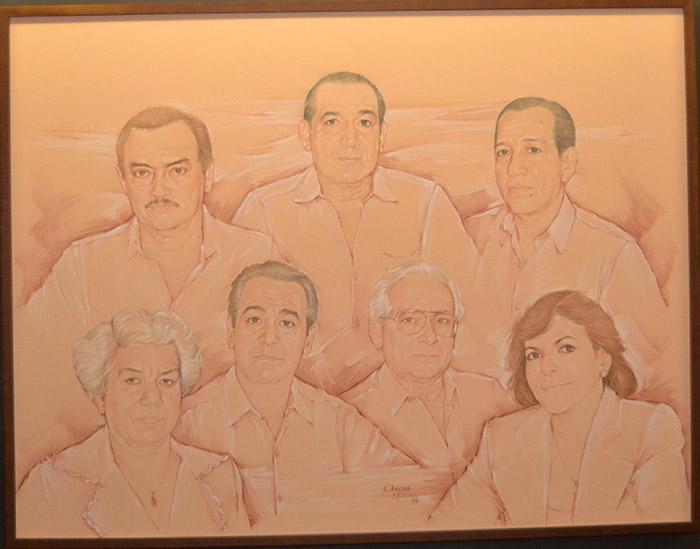Los 7 visionarios que fundaron a la Universidad de la Costa.