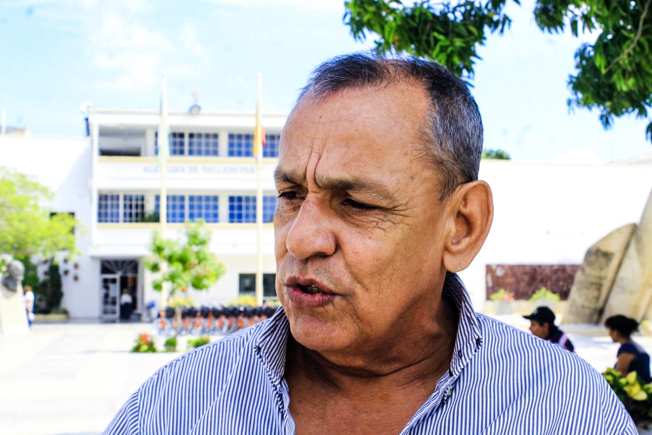 Darío Ariza, comerciante de sectores aledaños a la Plaza Alfonso López.
