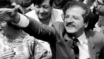 Luis Carlos Galán gozaba de una gran aceptación por parte del pueblo colombiano.