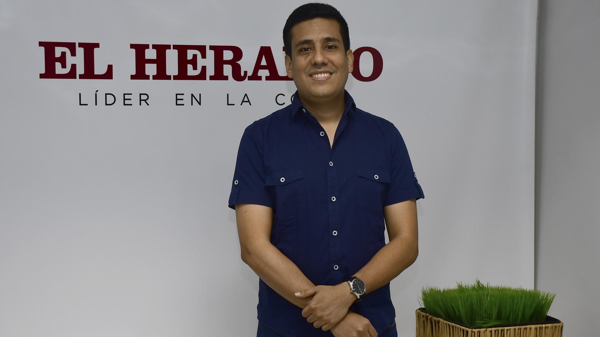 Carlos Silvera, alcalde de Galapa. |