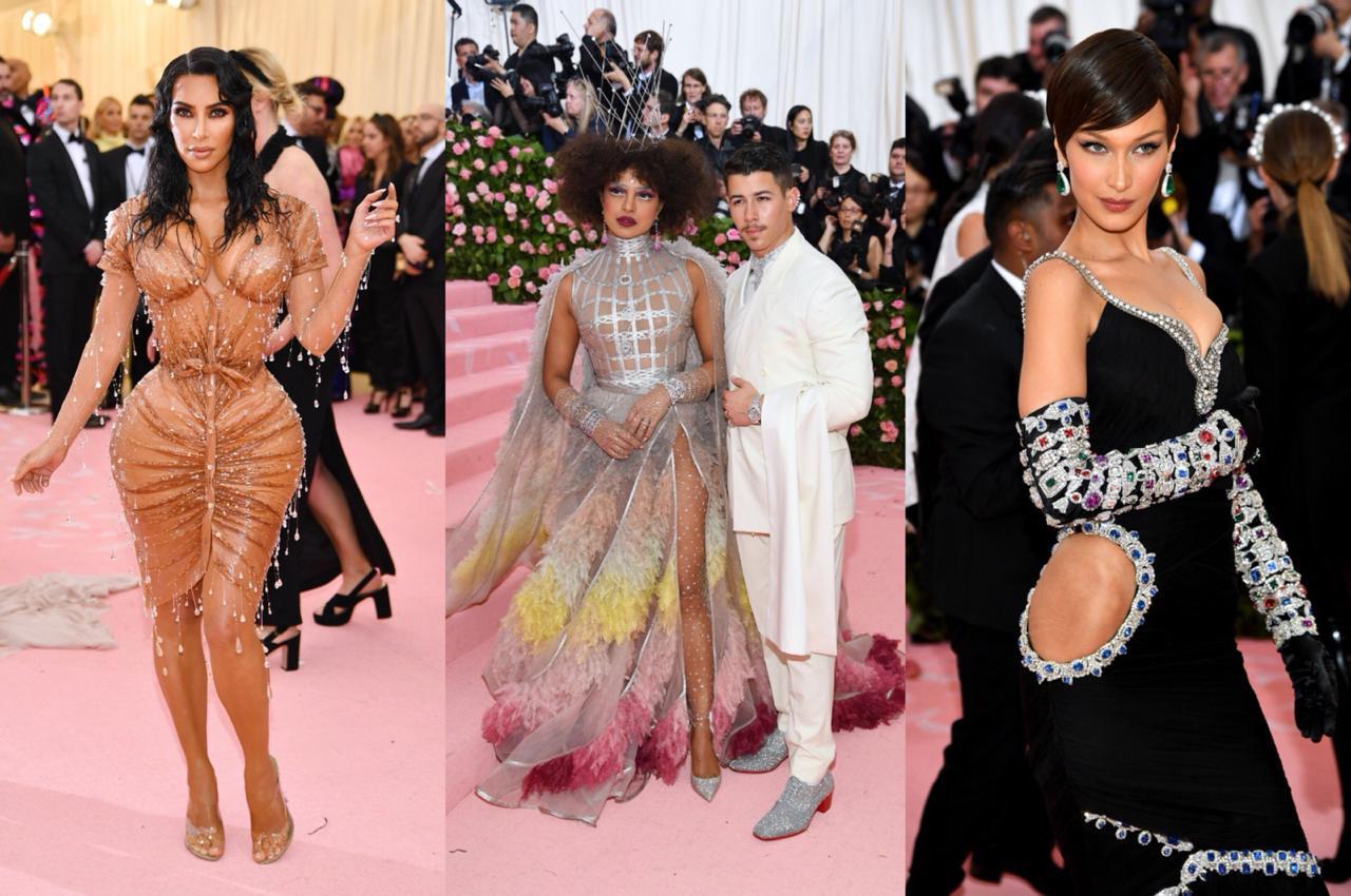 Kim Kardashian,  Priyanka Chopra y Nick Jonas, Bella Hadid