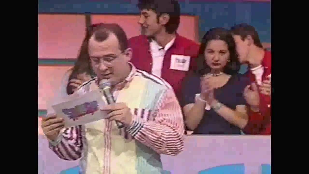 El presentador tuvo su paso por 'Domingos Gigantes'