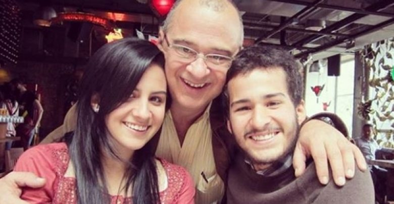 El presentador tenía dos hijos de una relación previa. María José y Simón.