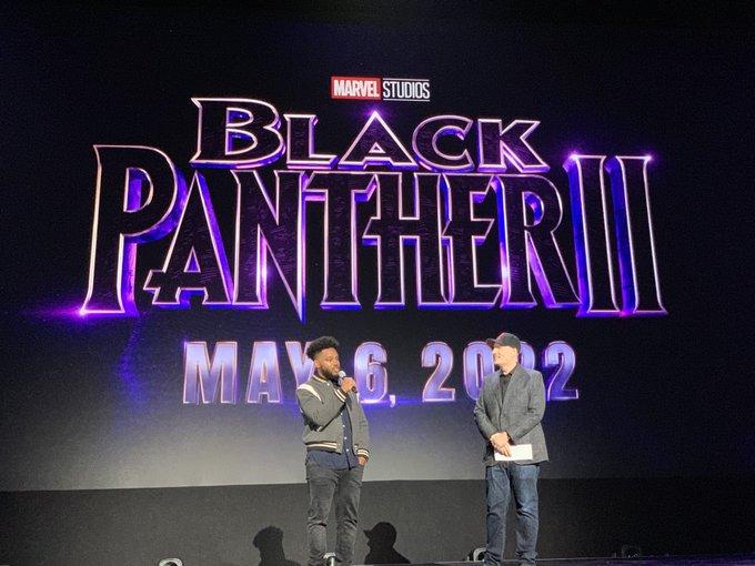 La segunda entrega de Black Panther está programada para el 6 de mayo de 2022.