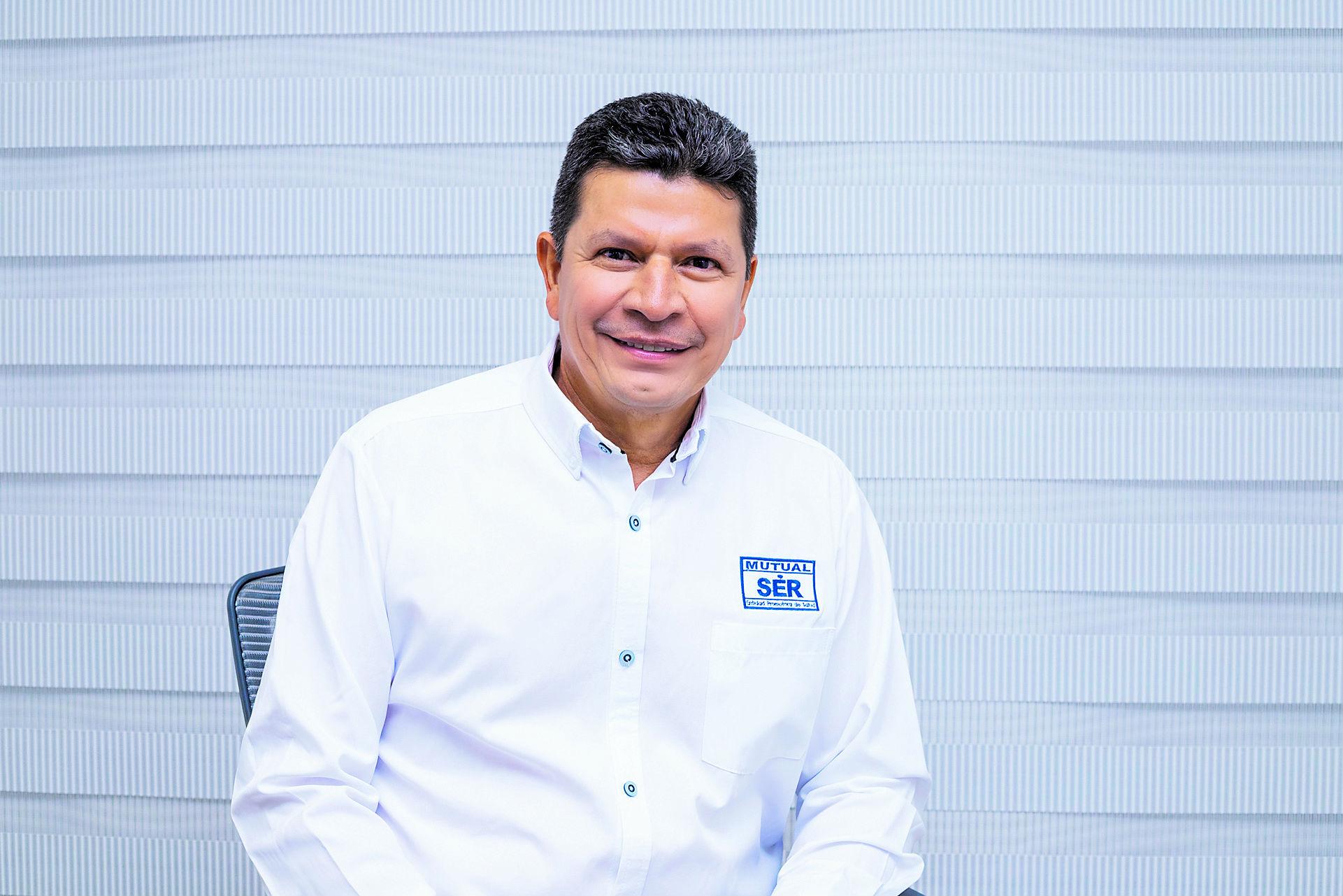 Galo Viana, gerente de Mutual Ser.