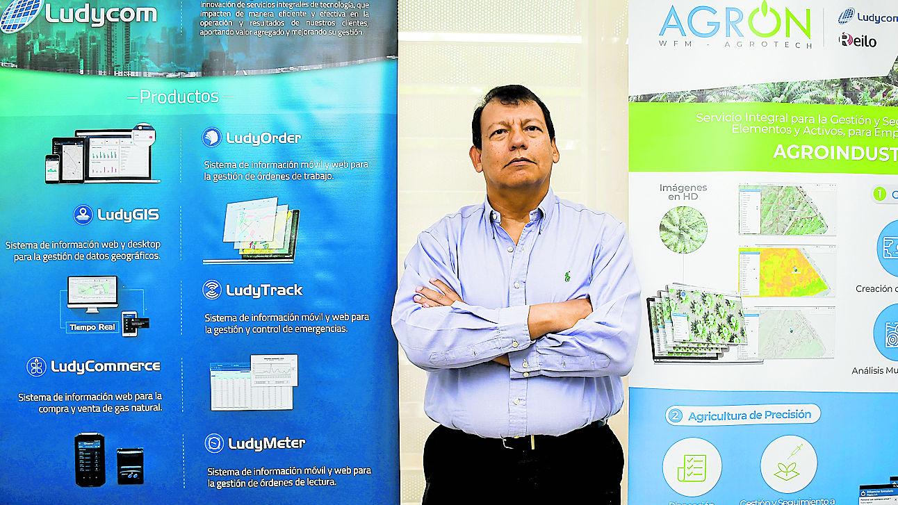 Gerid García, socio y creador de  Ludycom S.A.