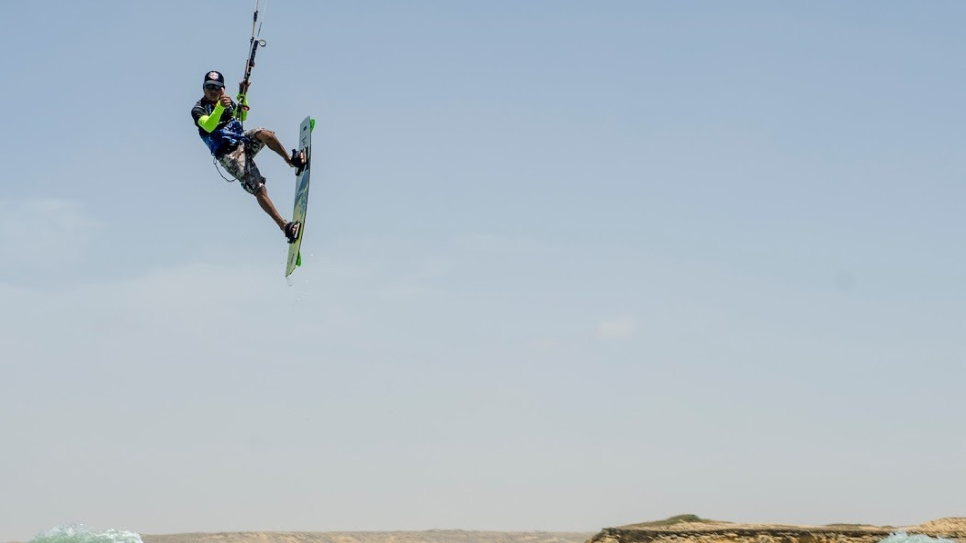 En esta actividad pueden participar todos los amantes del kitesurf.