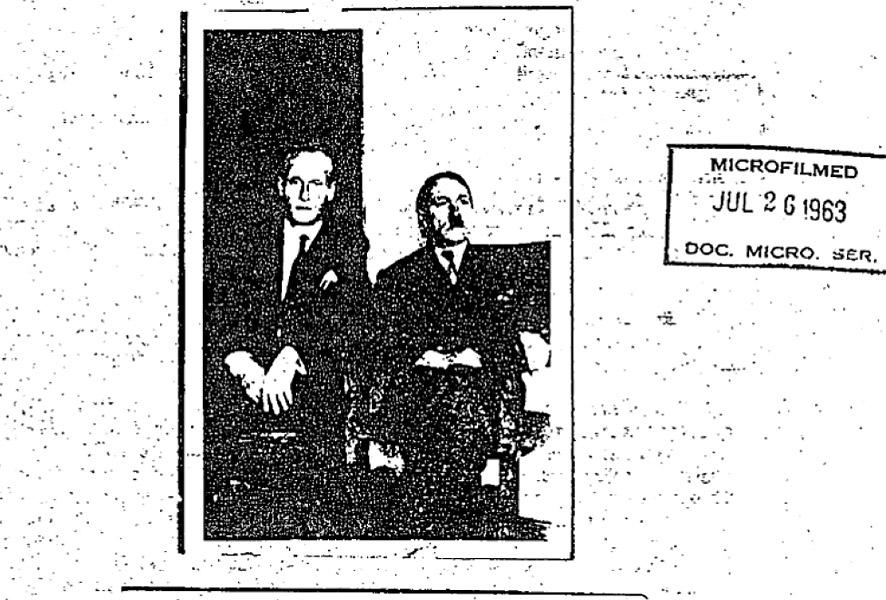 Imagen desclasificada de Hitler en Colombia.