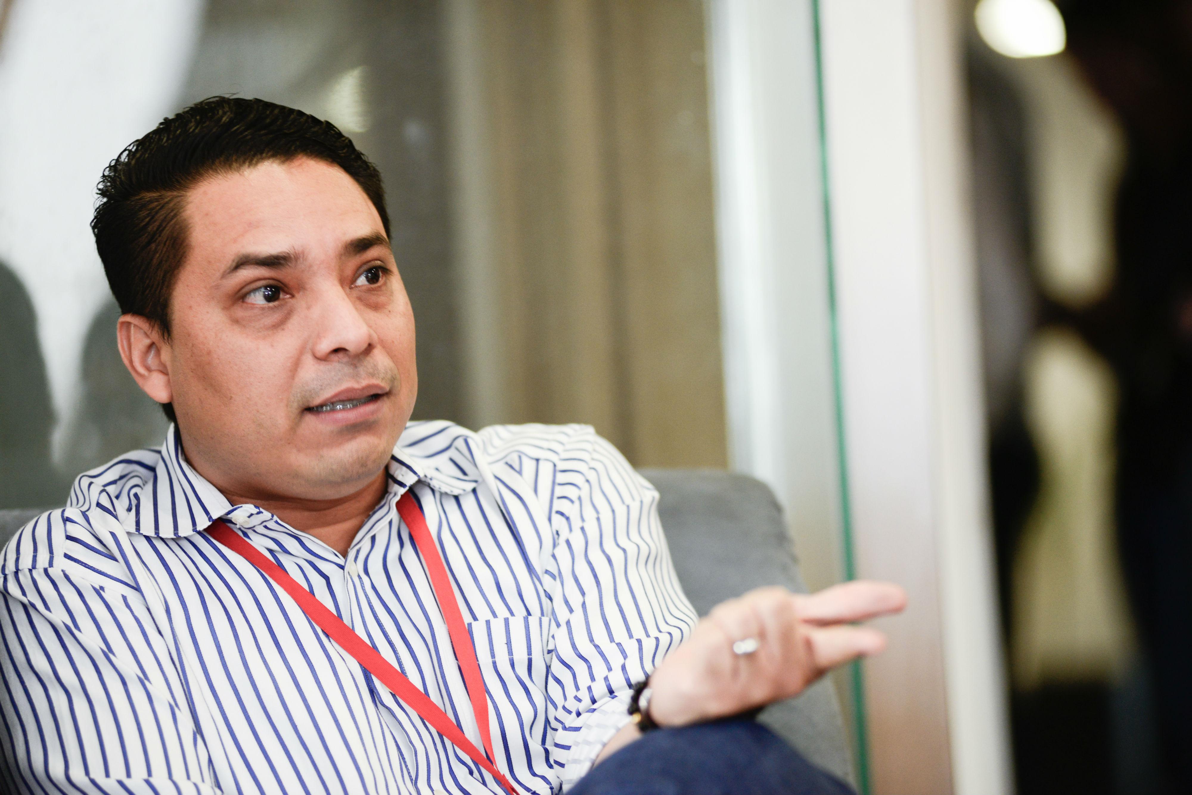 Hugo Martínez, gerente comercial de Extreme Technologies.