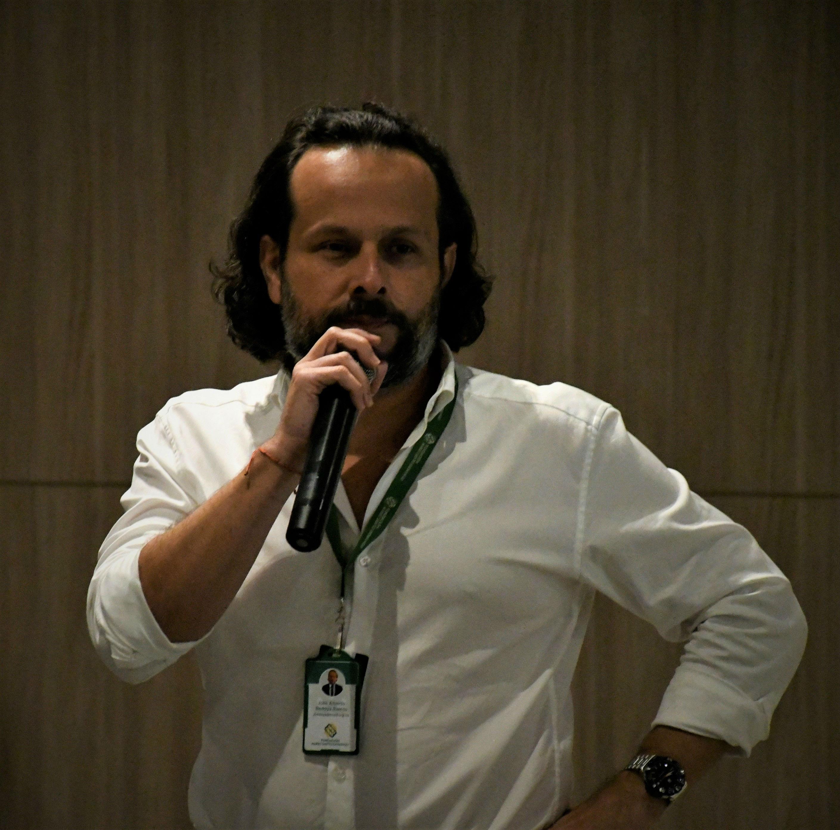 José Bedoya, director de Desarrollo Empresarial de la Fundación Mario Santo Domingo.