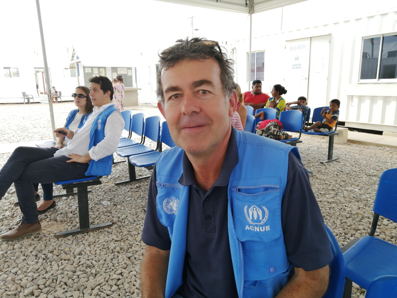 Joseph Merck, representante de ACNUR en Colombia.