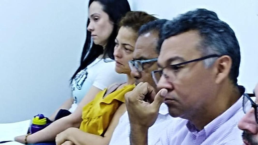La audiencia contra los cuatro abogados procesados por el 'cartel de pensiones' continúa el martes.