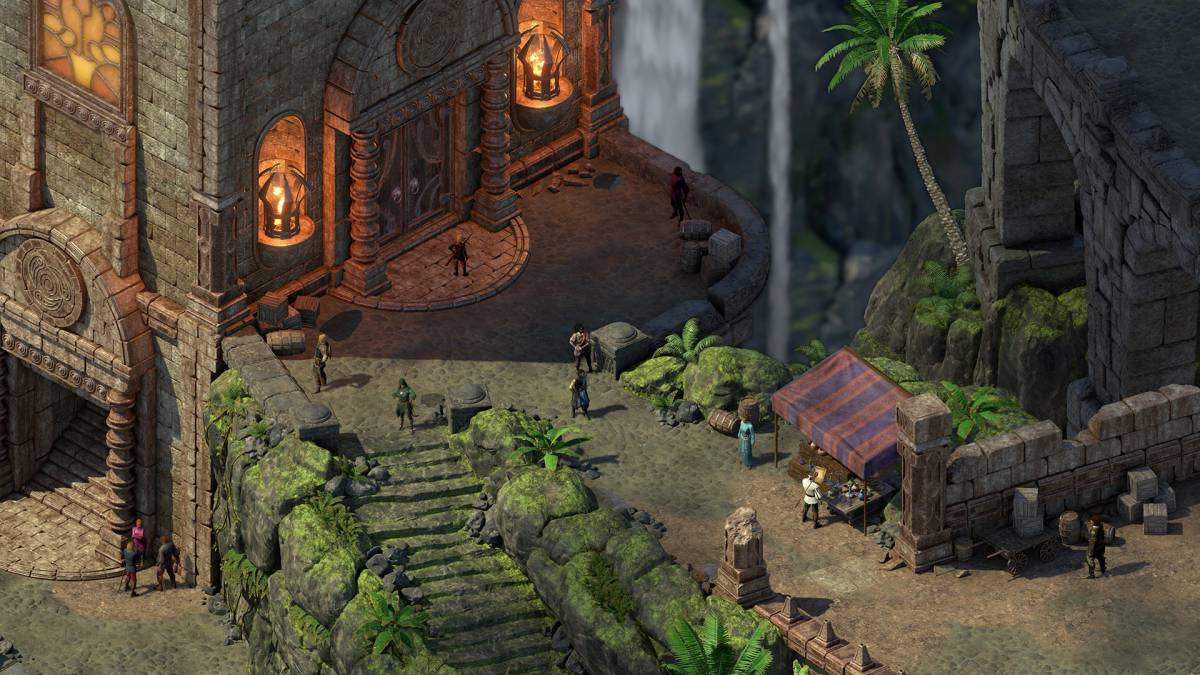 Las gráficas retro de Pillars of Eternity.