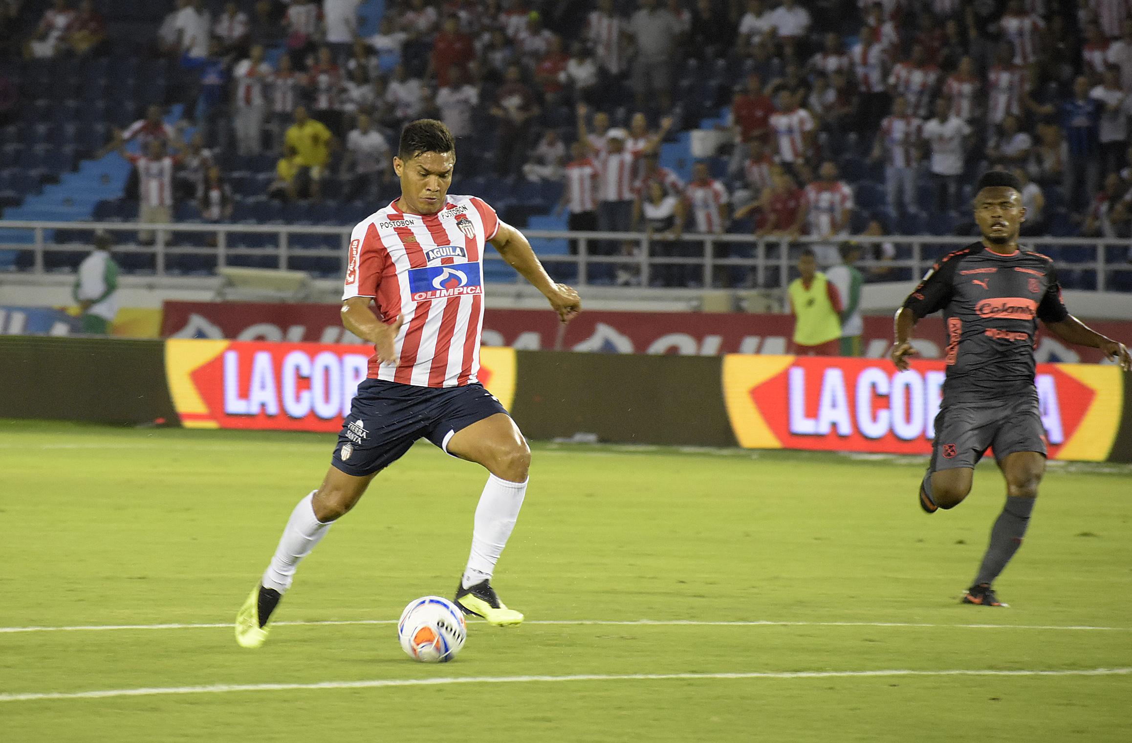 La opción de gol que Teófilo Gutiérrez desperdició cuando se encontraba solo ante David González.