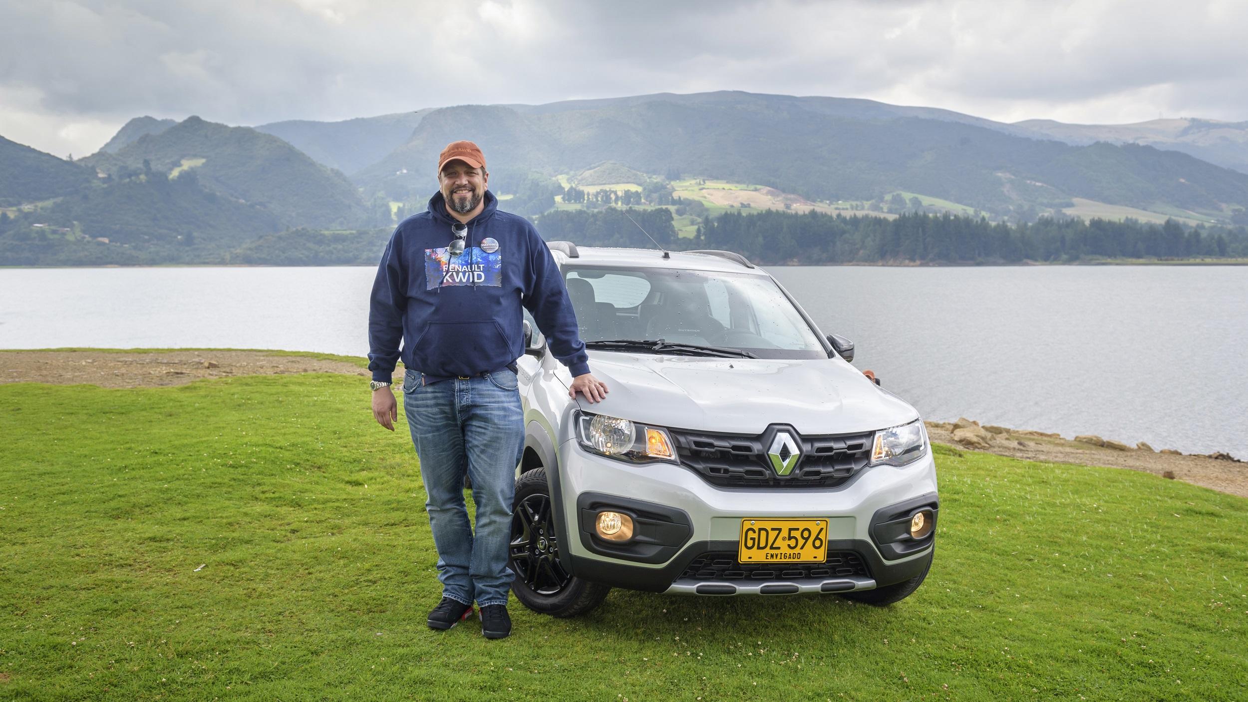 Matthieu Tenenbaum, presidente de Renault-Sofasa en el lanzamiento del Kwid.