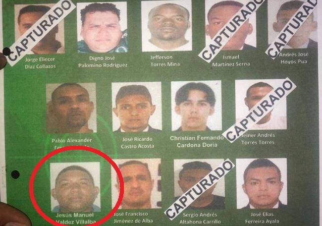 Jesús Manuel Valdez, alias Lucio, en una lista de 'los más buscados'.