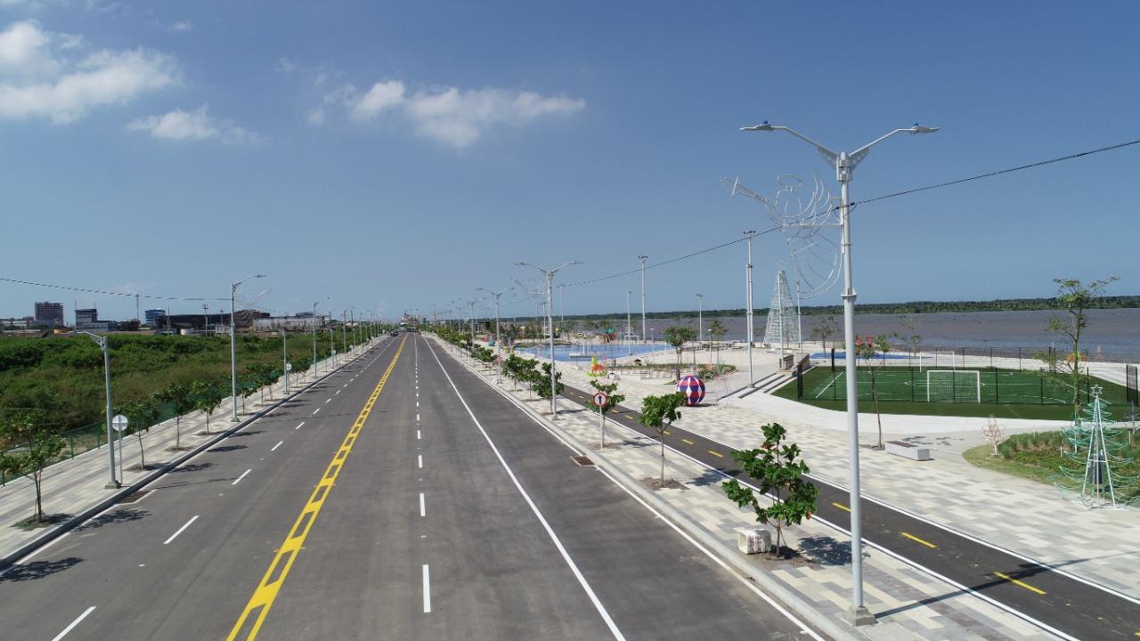 La vía también será entregada para el uso de los visitantes.
